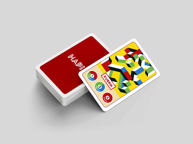 Jeu de cartes HAPIK 3 en 1
